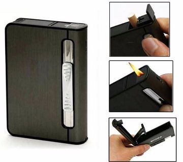 Previous product    Next product 2-in-1 Cigarette Case With Lighter