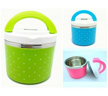 single layer lunch box