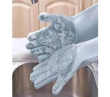 Silicone kitchen Cleaning Gloves