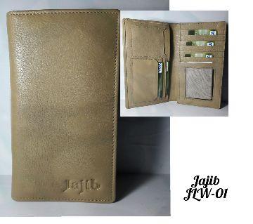 Jajib Leather Long Wallet