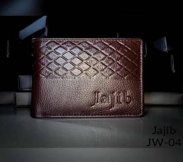Jajib 100% Leather Wallet