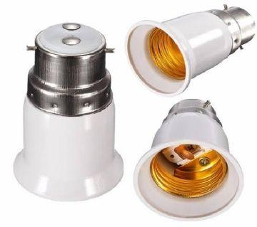 1 psc Bulb Base Socket (B22 To E27) Converter Adapter