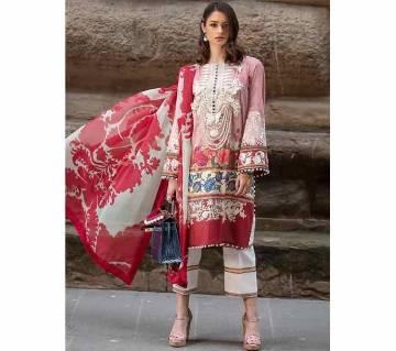 Unstitched Lawn fabric salwar kameez for women Sana Safinaz Lawn