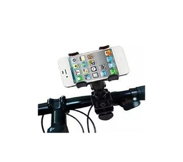 Driving Time Mobile Phone Holder for Bike & Bicycle  Black  GNG