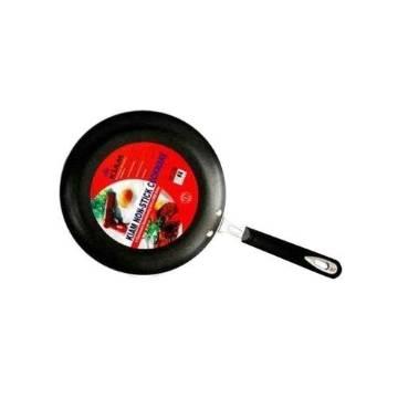 28cm Kiam Non-Stick Fry Pan- Silver and Black