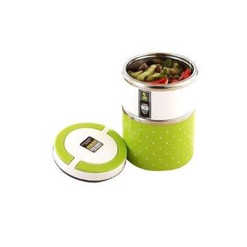 Homio 2 Layer Lunch Box - Green