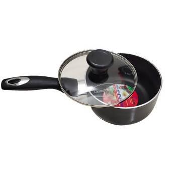 Kiam Non-Stick Milk Pan With Glass Lid 16cm.