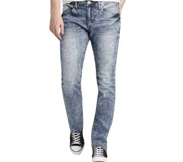 Stretchable Menz Semi Narrow Jeans Pant