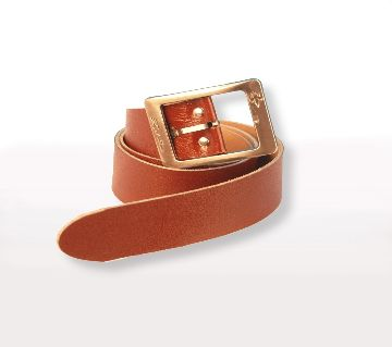 One part leather belt