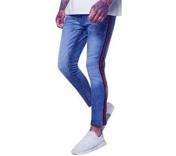 Mens Semi Narrow Fit Jeans Pant