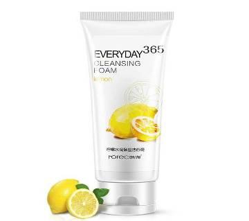 ROREC Everyday 365 Cleansing Foam Lemon Face Wash -120 g -Thailand