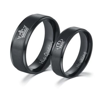 King - Queen Couple Finger Ring