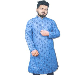 Semi Long Pure Cotton Panjabi