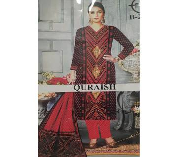 Joypuri  Indian unstiched cotton three piece