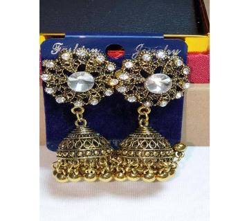 Antique style Earrings Jhumka for Women