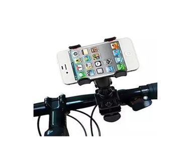 Driving Time Mobile Phone Holder for Bike & Bicycle  Black