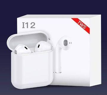 I12 TWS Bluetooth 5.0 Earbuds True Wireless Touch Control Bluetooth Earphones