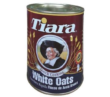Tiara White Oats 500g Tin Malta