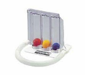 Respirometer Breathing Exerciser3 Balls Breathing Trainer Vital Capacity Exerciser Spirometer Breathing Respiratory Exerciser Lung Function Training I