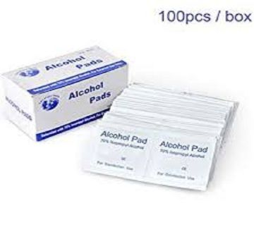 ANTI-SEPTIC ALCOHOL PAD