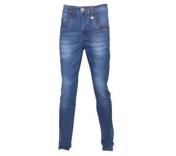 Blue Denim Slim Fit Jeans Pant For Men