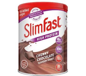 Slimfast Tin Milk Chocolate 450g-UK
