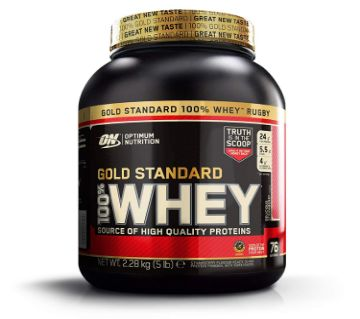 Optimum Nutrition ON 100% Gold Standard Whey Protein 2.28kg / 5lb-UK