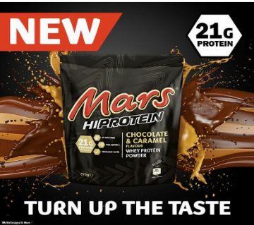 Mars Whey Protein Powder 875g-UK