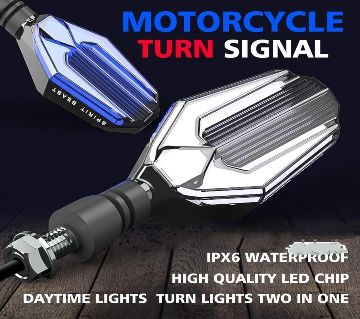 LED Motorcycle Turn Signal Lights 12V