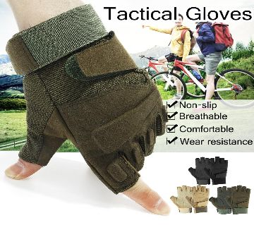 MT Tactical Gloves BIKING/Military Armed Army Shooting / Bike Riding Half Finger Gloves
