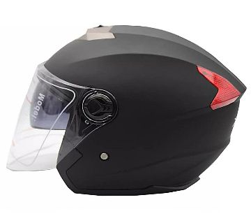 XBK Half Face Helmet 603 Matte Black