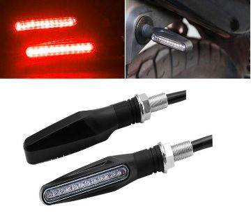 Motorcycle Turn Signal Lights Bendable Flashing Motorbike Indicator Blinke