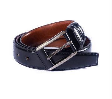 Black Leather Formal Belt