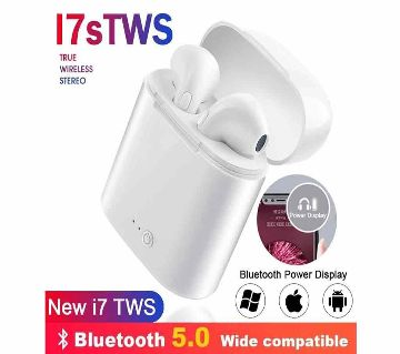 i7S TWS Wireless Headphones With Charging Box Wireless Earbuds