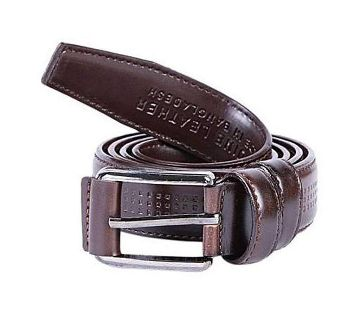 Leather Casual Belt for Man