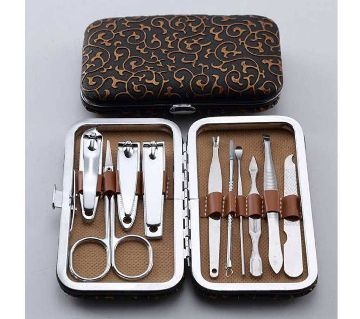 Manicure Pedicure 10 Pcs Set