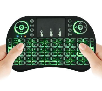 Mini Wireless Keyboard and Touch-pad Mouse