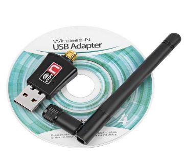 300mbps USB Wifi Receiver With 2.4 Ghz Wireless Antena