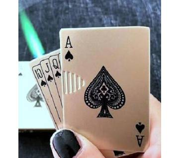Card style Lighter with money checker