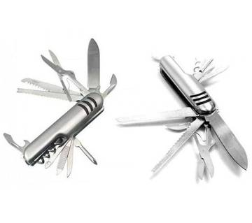 11 in 1 Multi function Army Knife for camping, fishing and outdoor activities, Best Swiss Army Pocket Knife