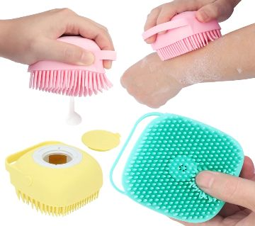 Cute Magic Silicon Shower Brushes