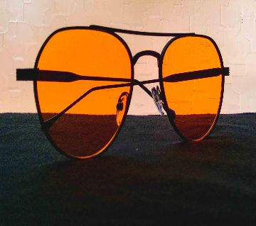 Yellow Night-vision Glass with Stylish Box