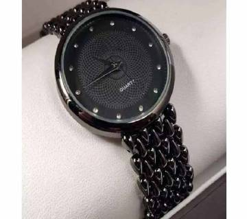 ANALOG WOMENS LUXURY WATCH WITH LUMINOUS HANDS STAINLESS STEEL