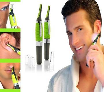 Micro Touch Max Hair and Nose Trimmer - Black and Green