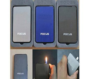 Cigarette Case with Refillable Lighter