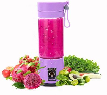 Portable USB Electric Fruit Juicer Handheld Smoothie Maker Rechargeable