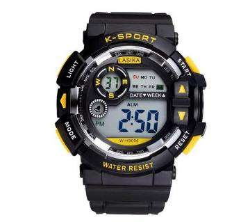 Lasika K-Sports Series Digital Watch Water Resistant Calendar LED Sports Watches With Box