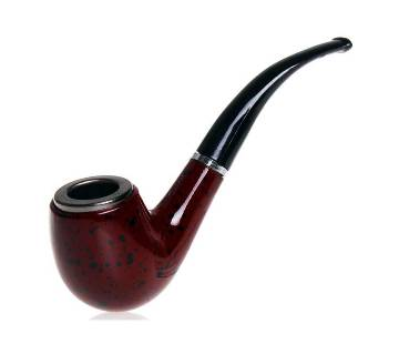 Wood Classical Pipe Portable Smoking Bent Pipes