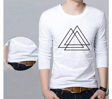 Menz winter Full Sleeve Swipe T Shirt