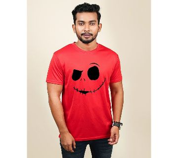 Zombie Menz Synthetic Fabric T-shirt - Red
